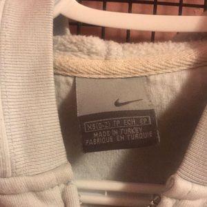 Nike Sweaters - Vintage Baby Blue Nike Zip Up